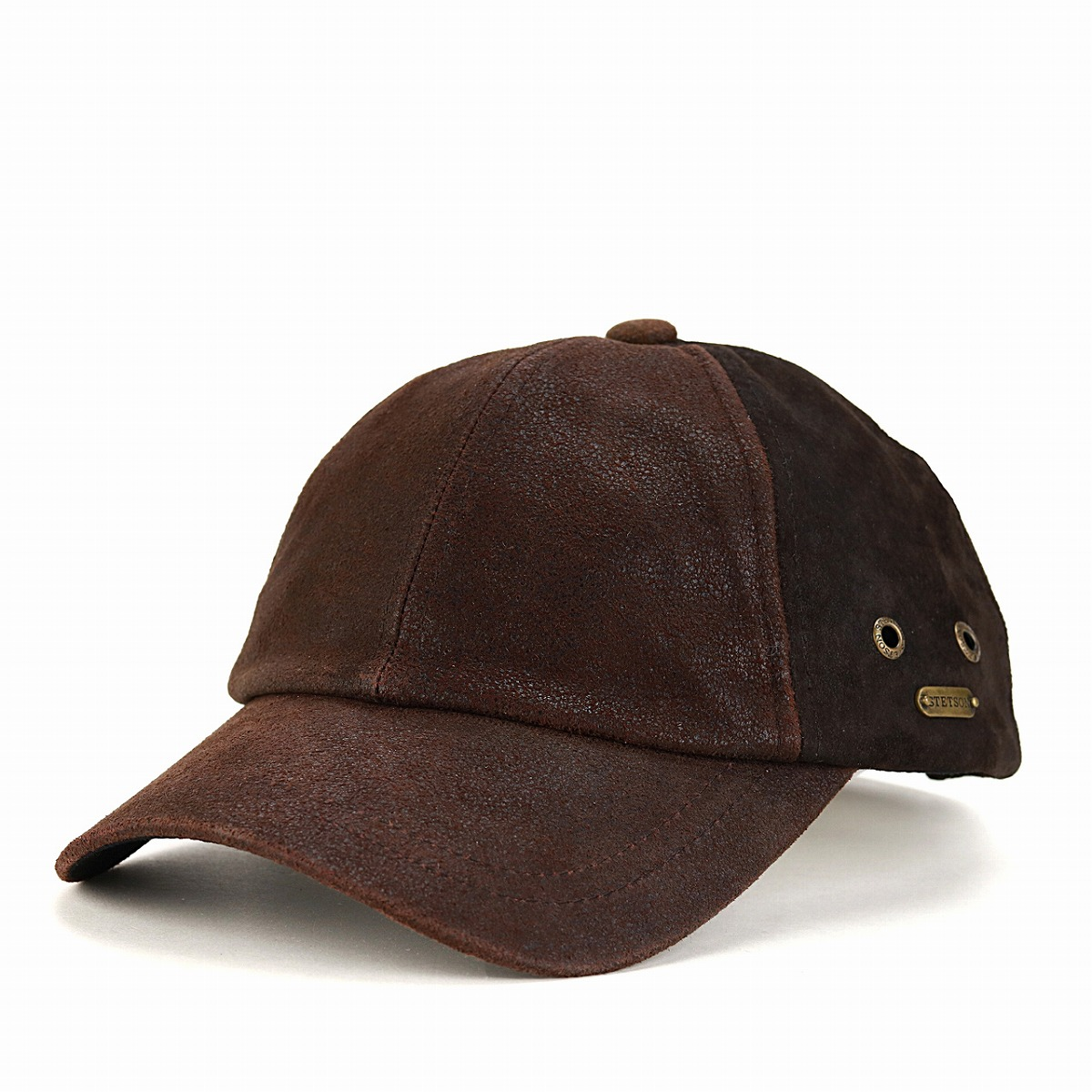 ... STETSON leather cap men hat baseball cap Lady s cap Stetson cap genuine  leather cold protection Shin ... 06379a30da8