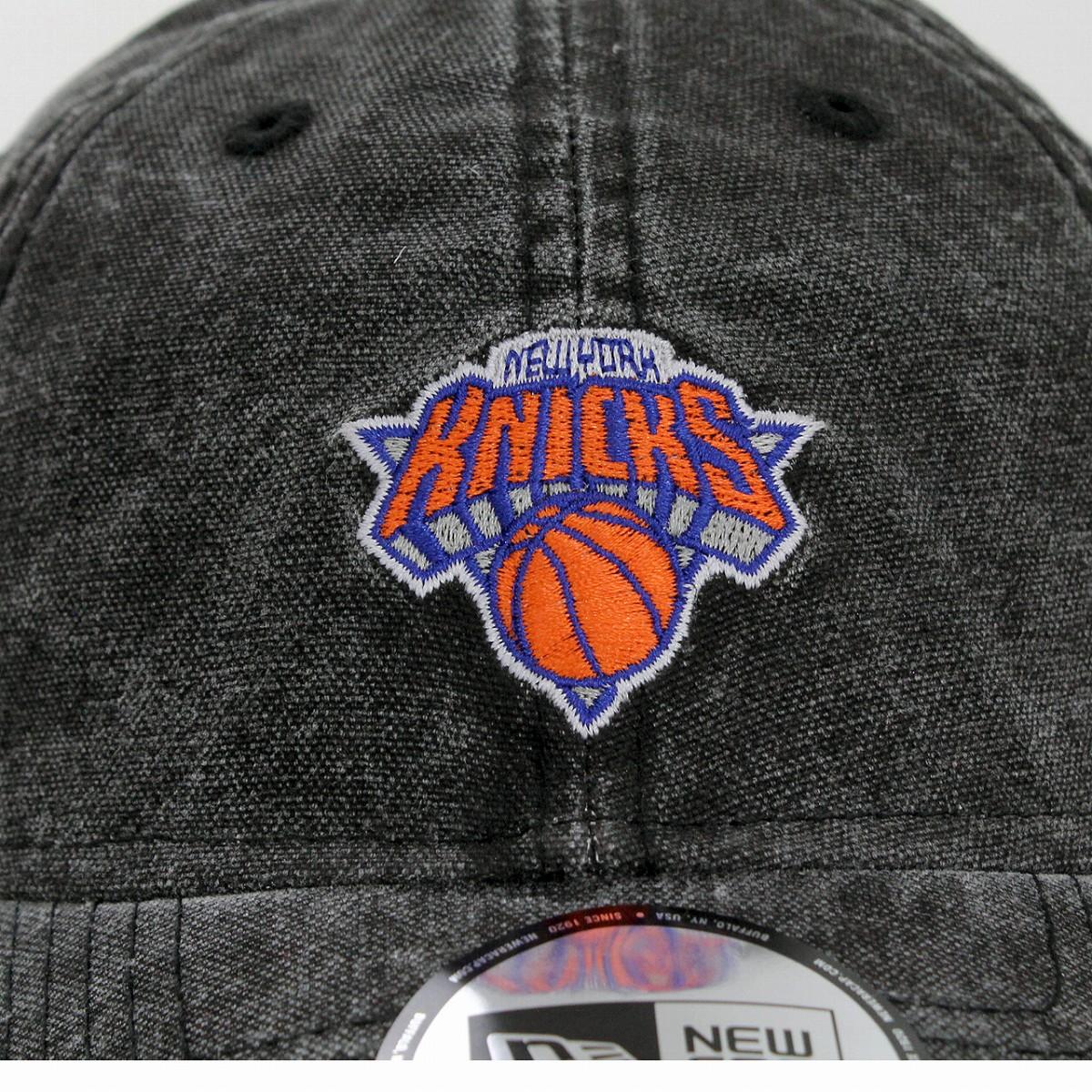 d164b59c60e New gills cap NBA Italian wash duck canvas New York Knicks NY 9THIRTY hat  NEWYORK KNICKS NEWERA black black baseball cap men street brand fashion   baseball ...