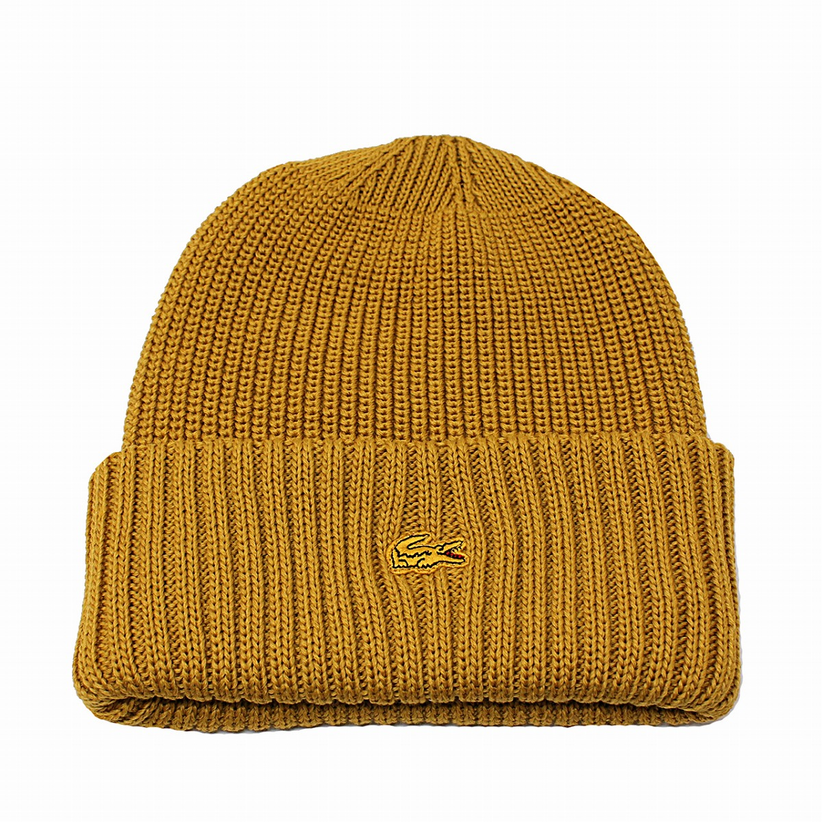 139db1ed4 The LACOSTE cloth crocodile embroidery high-quality men gap Dis Lacoste hat  yellow yellow mustard[beanie]adjustable size same day delivery Christmas ...