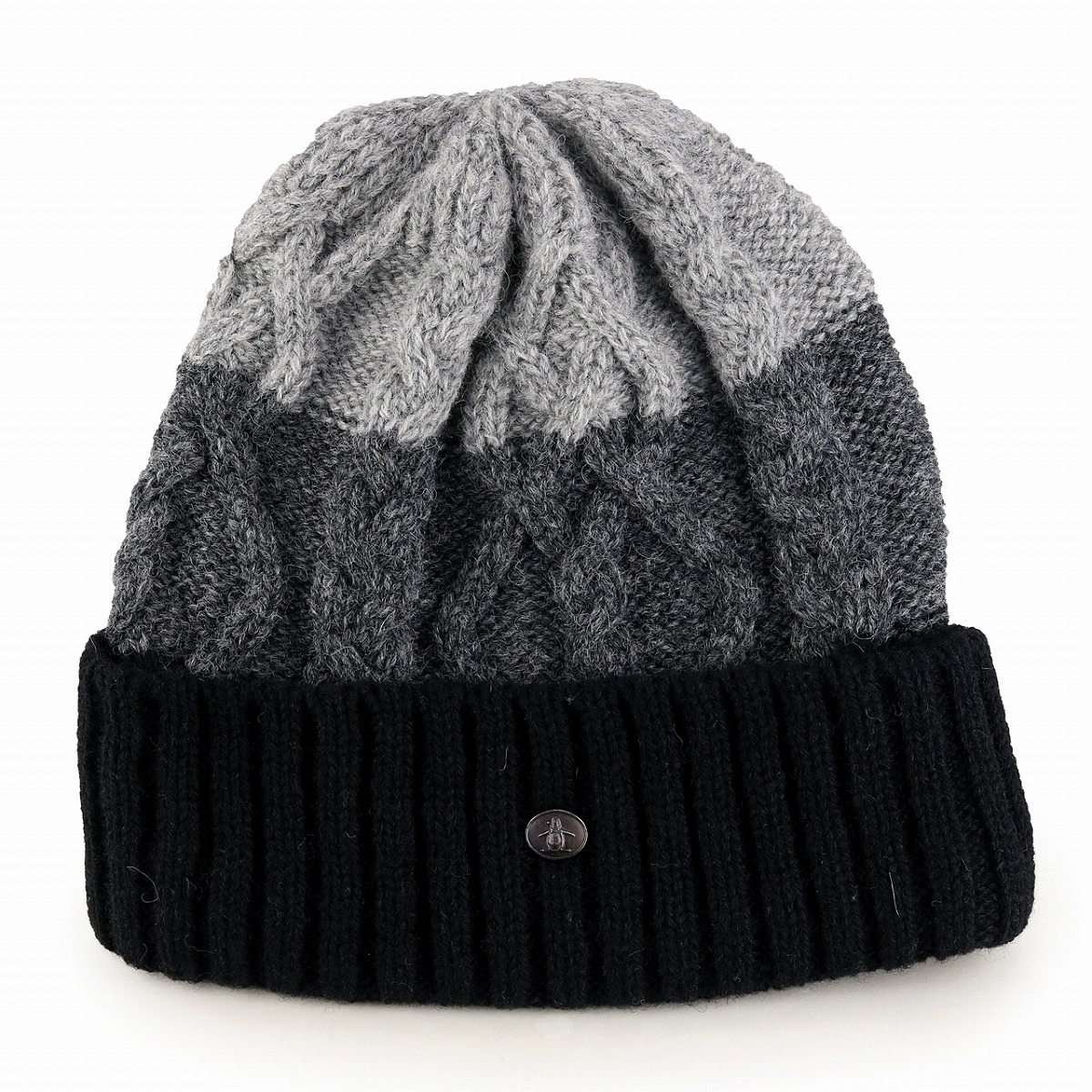 Low gauge knit hat men Munsingwear camping Lady s Shetland wool hat  Munsingwear golf mountain climbing pop   sad gray 165116e0042