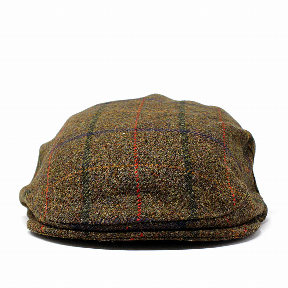 1edb3a33f4a Christie s America London hunting cap hat CHRISTYS  LONDON wool men tweed checked  pattern hunting cap hat traditional THREAD camel British traditional ...