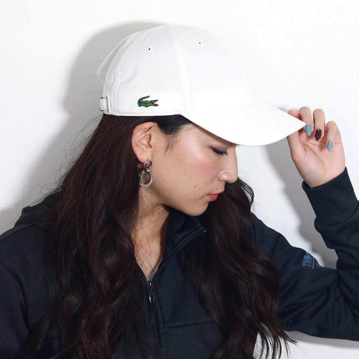 8b4759fa5e8 ELEHELM HAT STORE: The mark white of the cloth for LACOSTE cap cotton  Lacoste hat men gap Dis crocodile is off-white | Rakuten Global Market