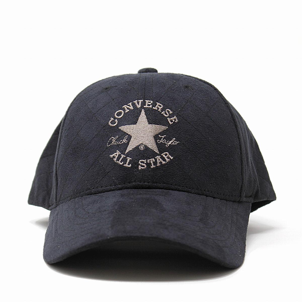 84c49aae8c5c Entering cap Converse all-stars suede cloth CONVERSE ALL STAR 6 one  quilting cap cold protection Shin pull hat logo men gap Dis  cap  black  black (Christmas ...
