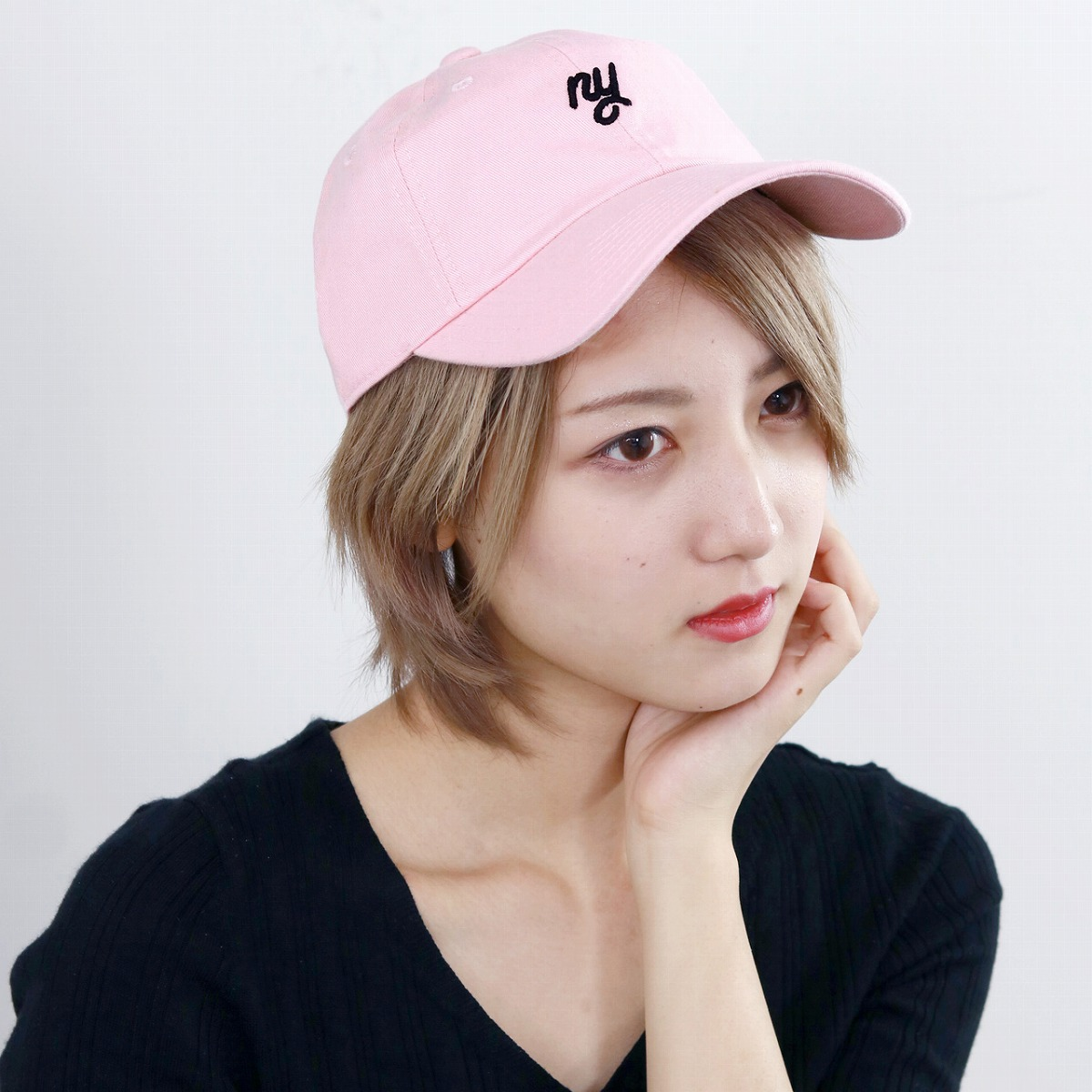 abb5b141f2e Needle hat pink (Christmas gift packing lapping free of charge) American in  cap cotton unisex NY embroidery logo AMERICAN NEEDLE New York baseball cap  oar ...