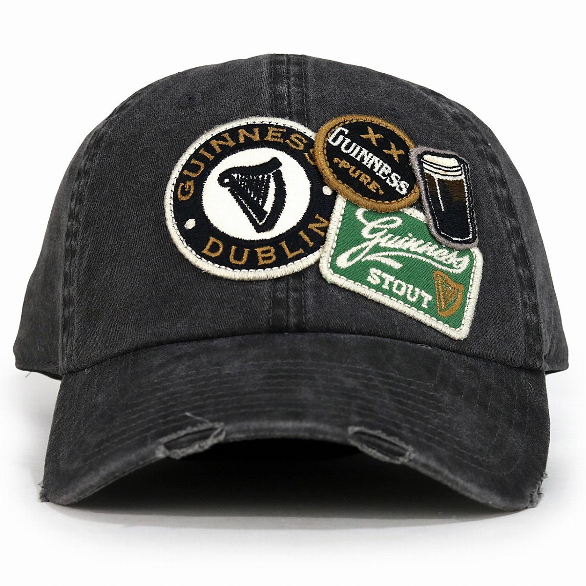 fffdb18c4 Cap Guinness emblem American needle GUINNESS baseball cap men AMERICAN  NEEDLE four season hat Lady's emblem Guinness cap black (Christmas gift  packing ...