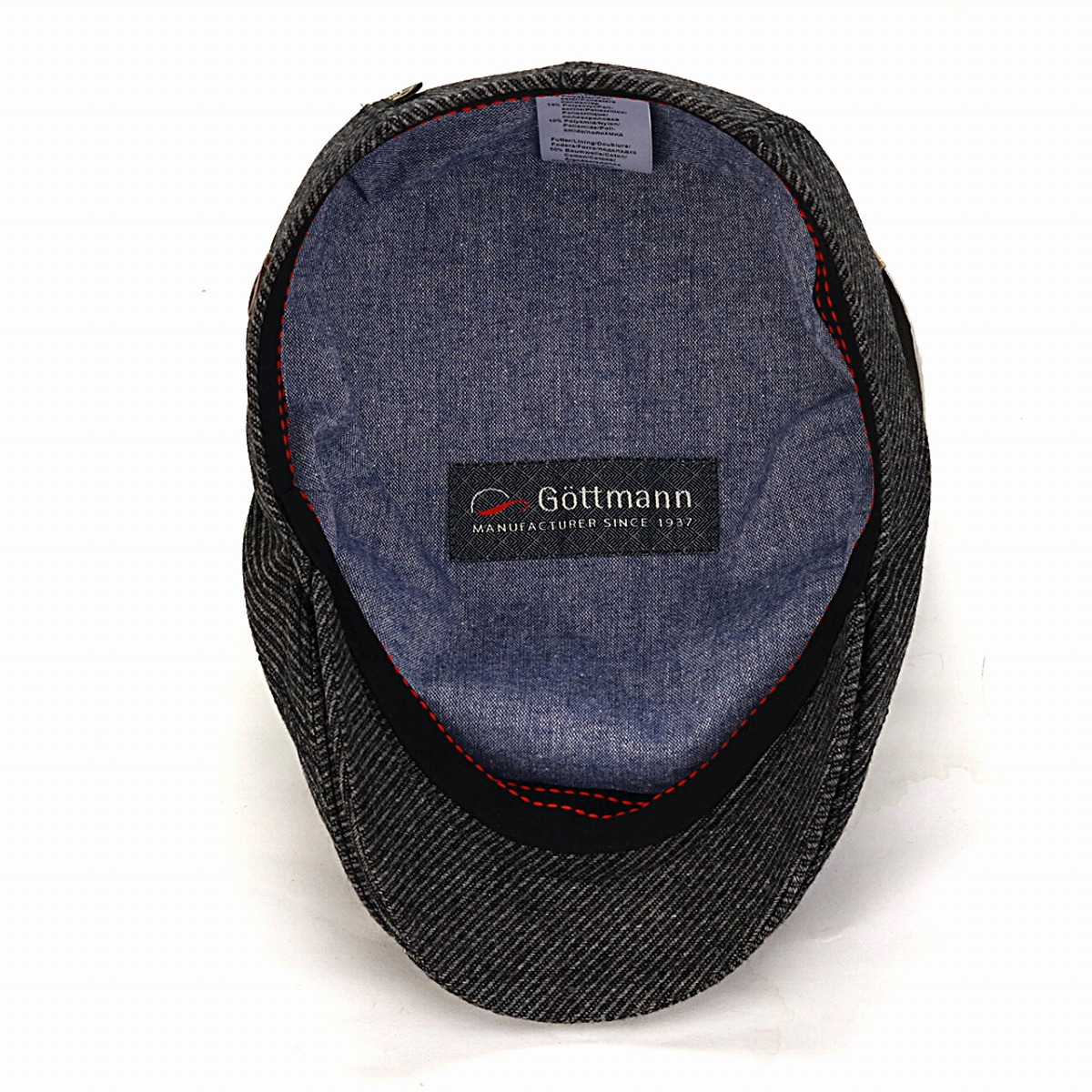 408c1e4fdd99f ... Gottmann サイズゴットマン hat cold protection men dark gray (Christmas gift  packing lapping free of ...
