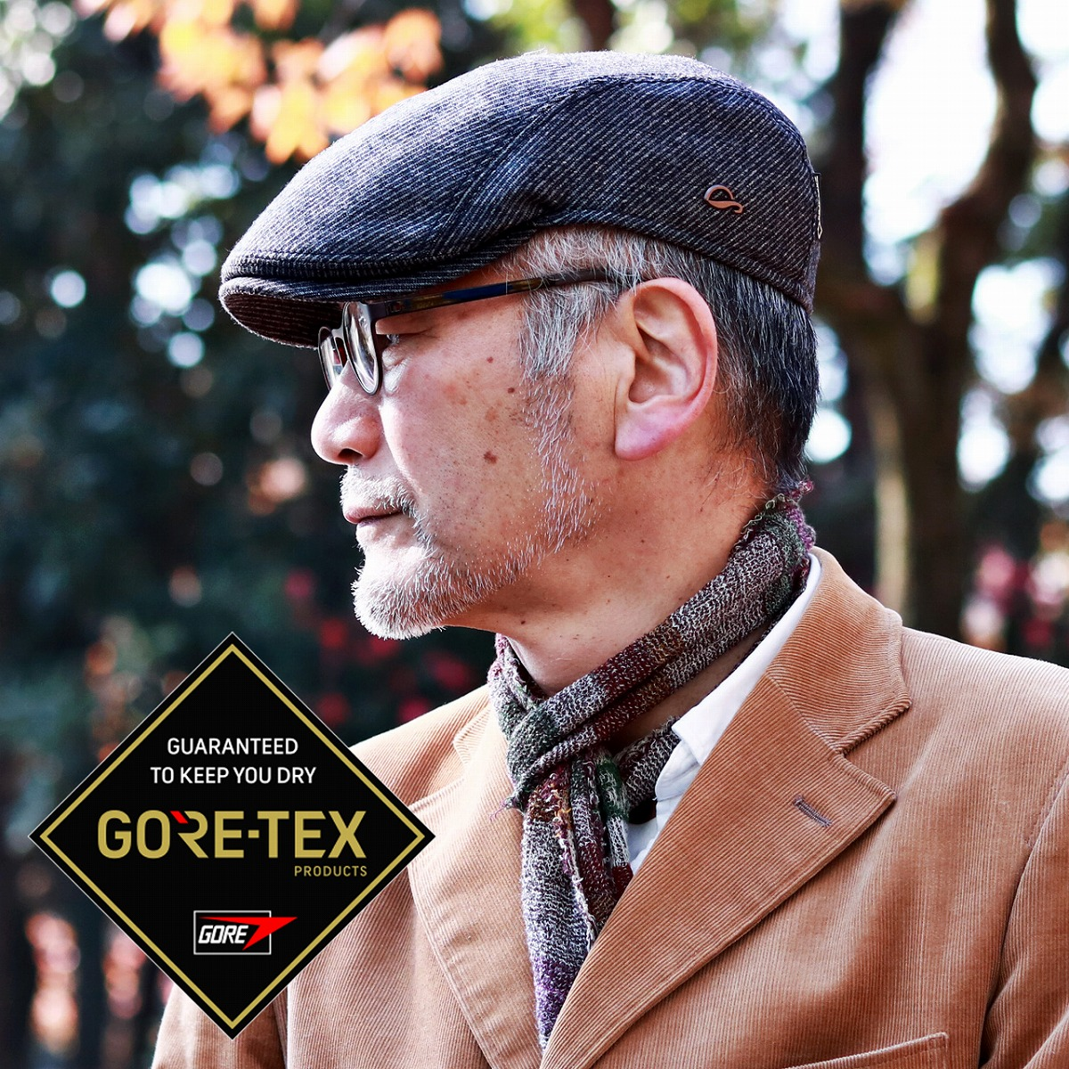 60e9c76b78c3d ELEHELM HAT STORE: Gottmann サイズゴットマン hat cold protection men dark gray  (Christmas gift packing lapping free of charge) whom hunting cap GORE-TEX  ...