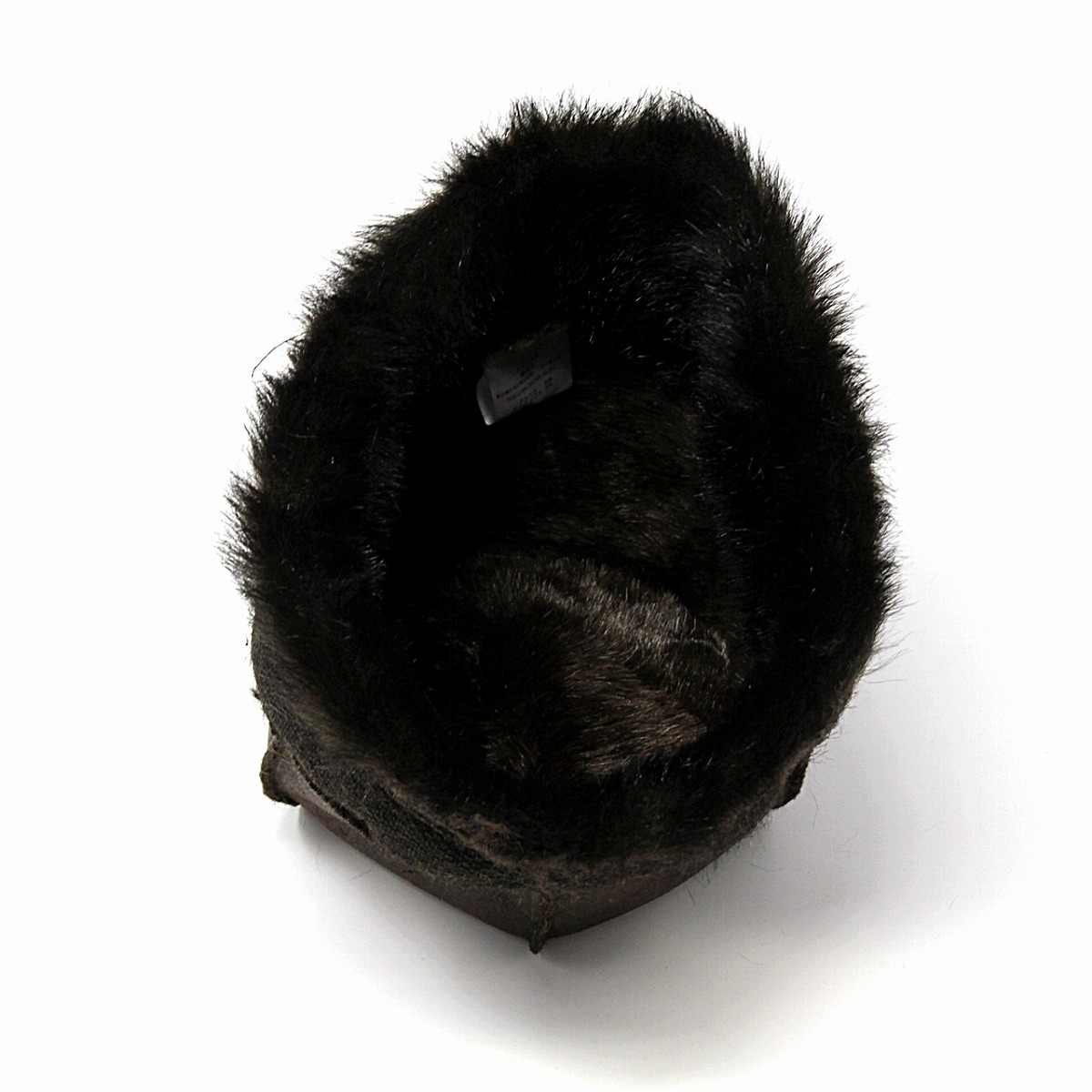 638bdd4dc ROBERTidea Russia hat hat fur Roberto idea Russian hat Lady's hat tea brown  (Christmas gift packing lapping free of charge) in the fall and winter