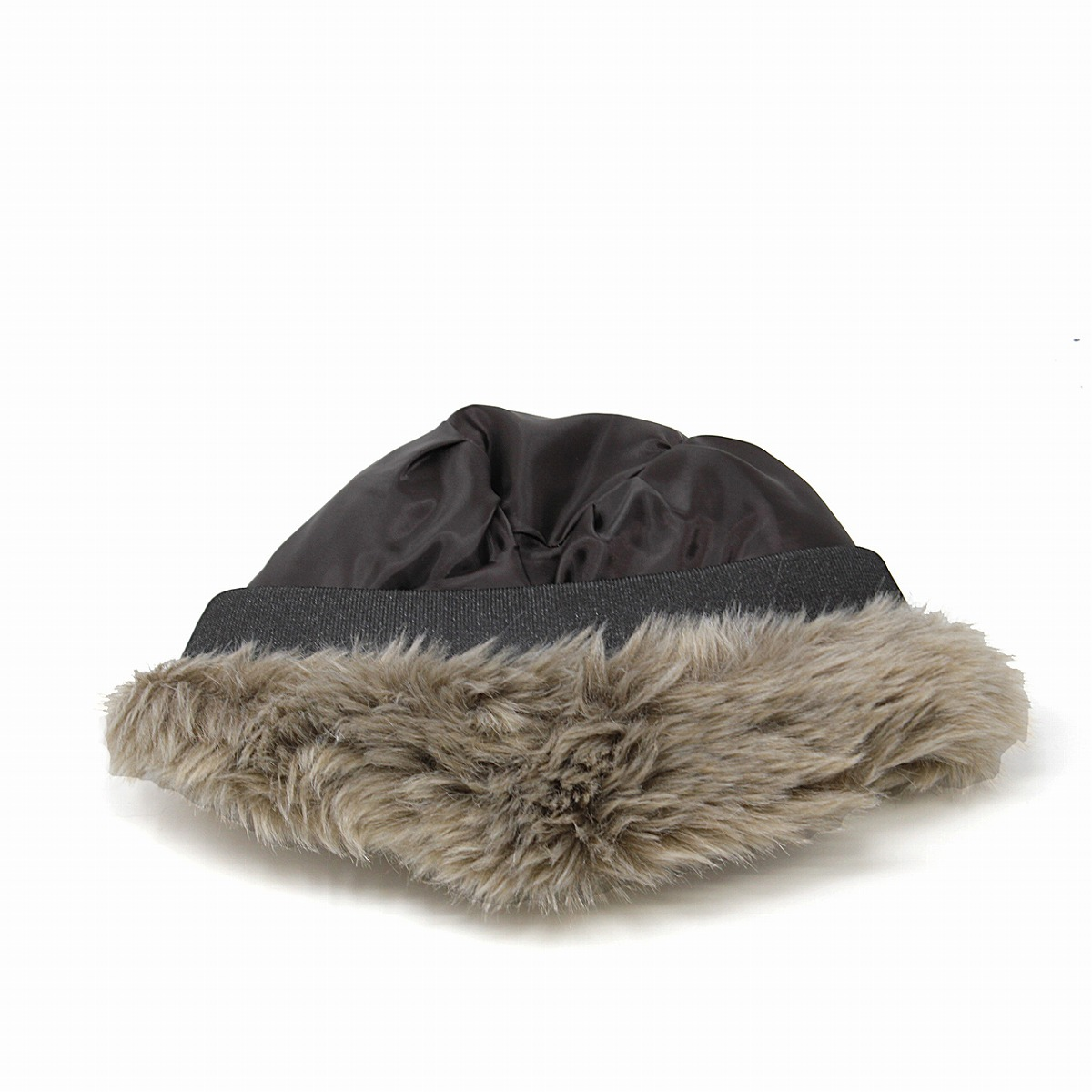 95117223d Roberto idea ROBERTidea Russia hat hat fur foreign countries buran mud cyan  hat Lady's hat tea brown (Christmas gift packing lapping free of charge) ...