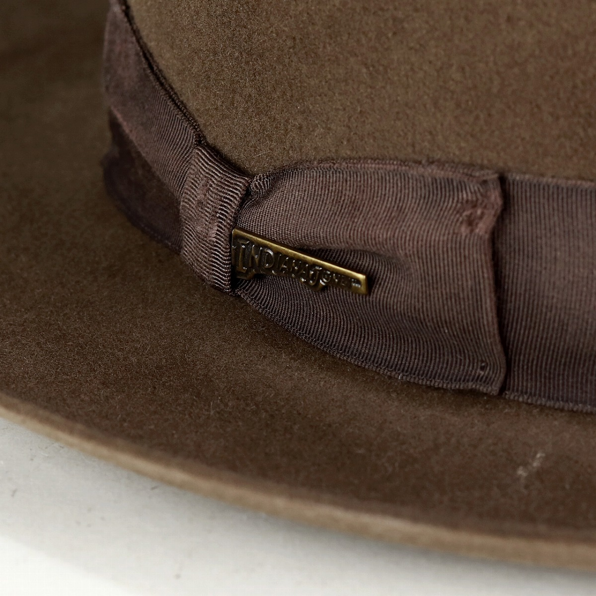 b789d3775c89e ... Tea (Christmas gift packing lapping free of charge) during Indiana  Jones hat men hat ...