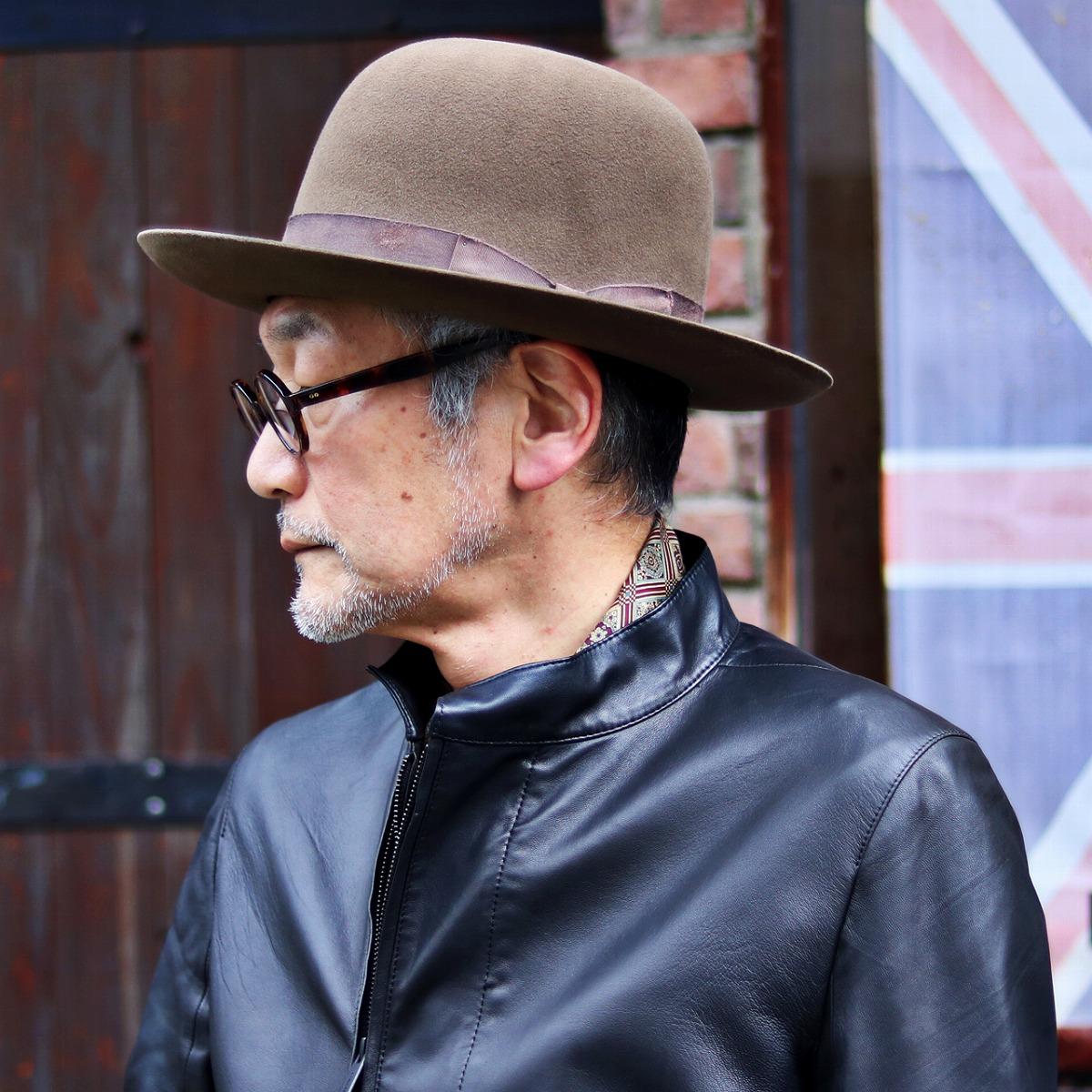 インディ・ジョーンズ 帽子 メンズ ハット ディズニー Indiana Jones ファーフェルト オープンクラウン 映画 ハリウッド ハット シネマ 限定モデル 秋冬 ブラウン 中茶 [ indiana Jones hat ] ( クリスマス ギフト包装 ラッピング 無料 )