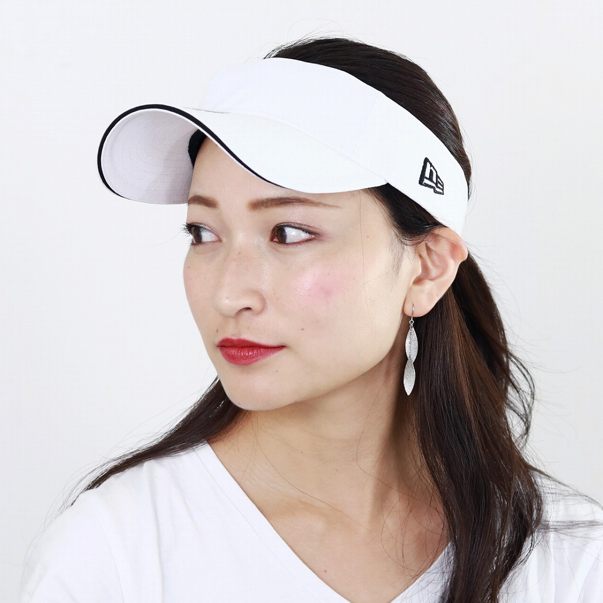 e1d07b2e ELEHELM HAT STORE: Sports new gills sun visor men UV measures NEWERA oar  season hat Lady's sun visor Lady's walk / white white | Rakuten Global  Market