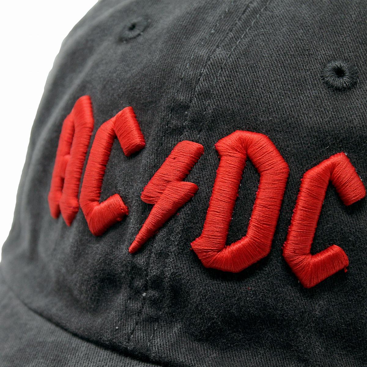 89f6c21d15741 Band cap ACDC cap oar season cotton men s American needle Lady s hat  AMERICAN NEEDLE AC DC black black