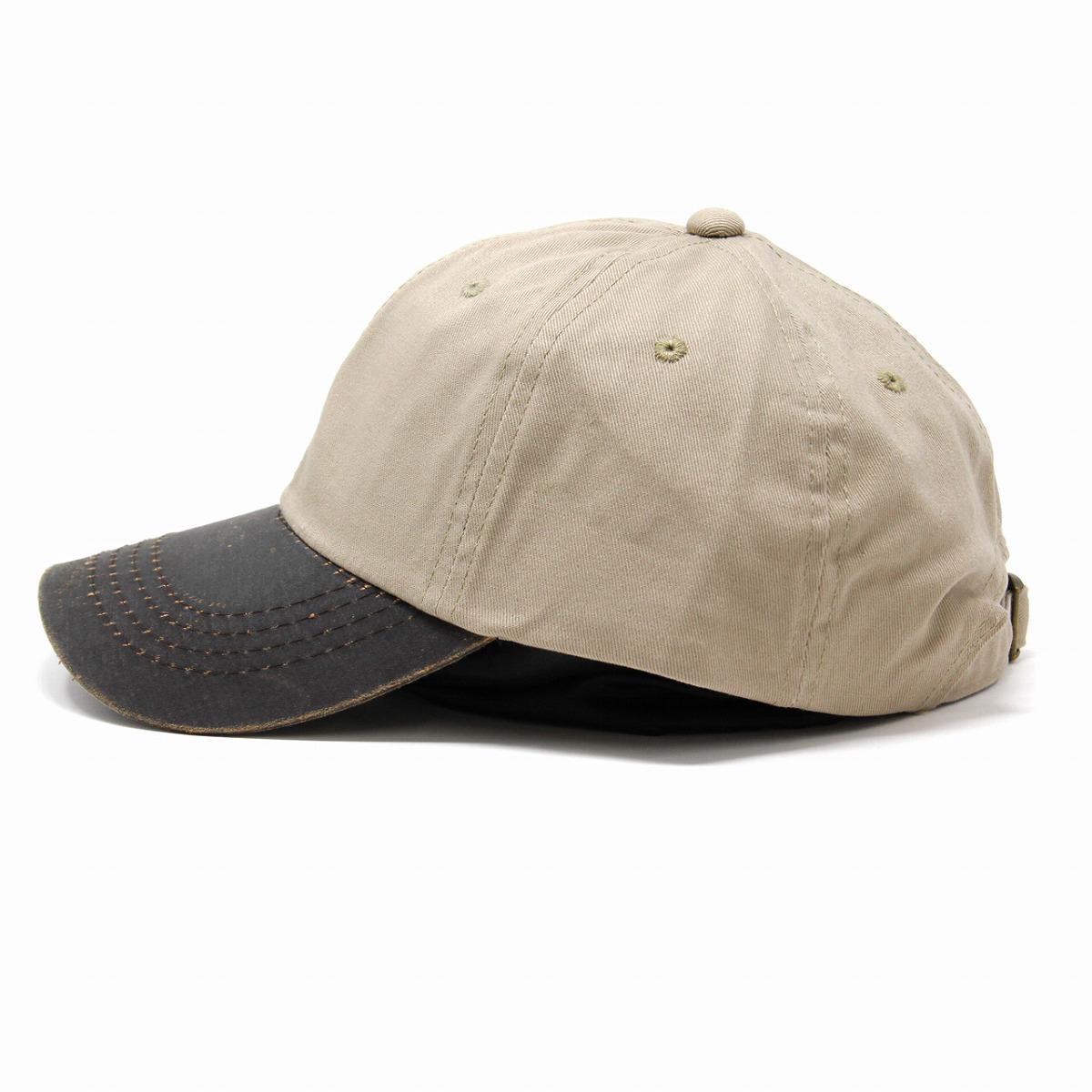 c7963f022 Casual coordinates accessory baseball cap Shin pull plain fabric adjustable  size size adjustable / beige [cap] male in a cap men cotton hat ...
