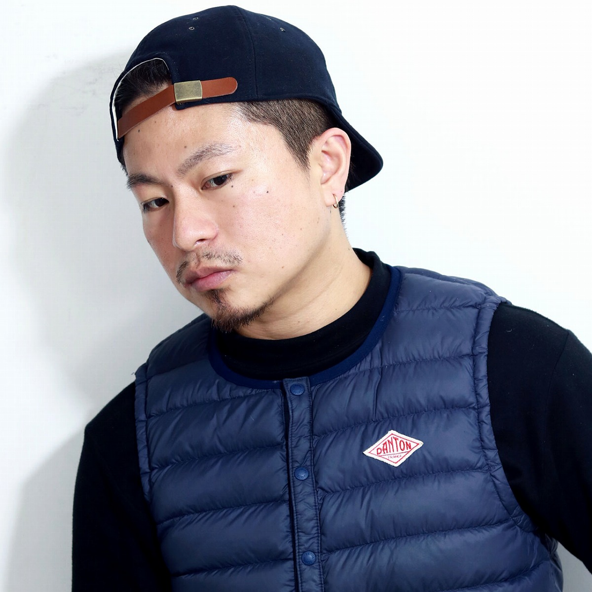 cc5c271579ad6 ELEHELM HAT STORE  CAP ラカル 6 panel cap racal cap hat men cap lady s   dark  blue navy (Christmas gift packing lapping free of charge) made in ショート ...
