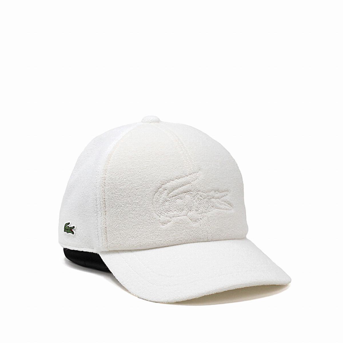 a59cb9925 Men gap Dis CAP Lacoste hat crocodile embroidery pile 58cm simple plain  sports   white off-white  cap  made in cap pile cloth LACOSTE cotton Japan  in the ...