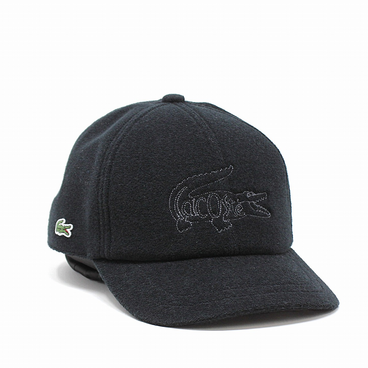 0c7e9ae515523 ELEHELM HAT STORE  CAP hat crocodile embroidery pile 58cm simple plain  sports casual clothes   black black  cap  made in Lacoste men cap pile  cloth LACOSTE ...