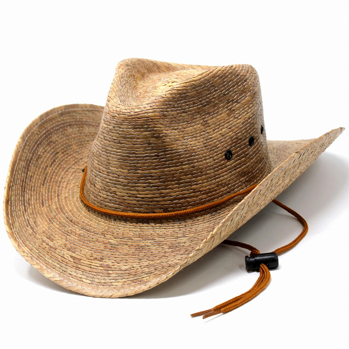 DPC straw hat ストローハットメンズカウボーイハットドーフマン hat broad-brimmed ten-gallon hat palm  blade Lady s hat Shin pull DORFMAN PACIFIC DPC1921 ... 93d347e6af5