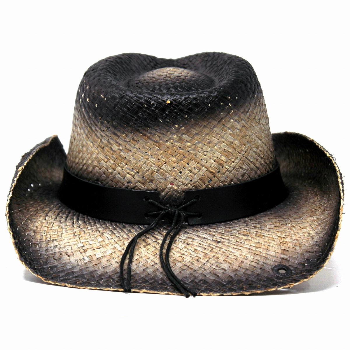 046014412fc ... Cowboy hat raffia men Peter Grimm straw hat hat Star-Spangled Banner  eagle hawk eagle ...