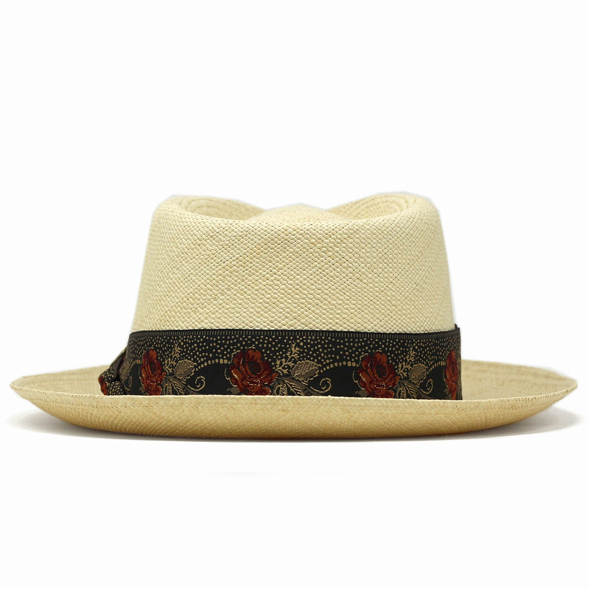 2fdaa291deac4 ... Panama hat STETSON rose embroidery ribbon overseas brand Stetson straw  hat men hat soft felt hat ...