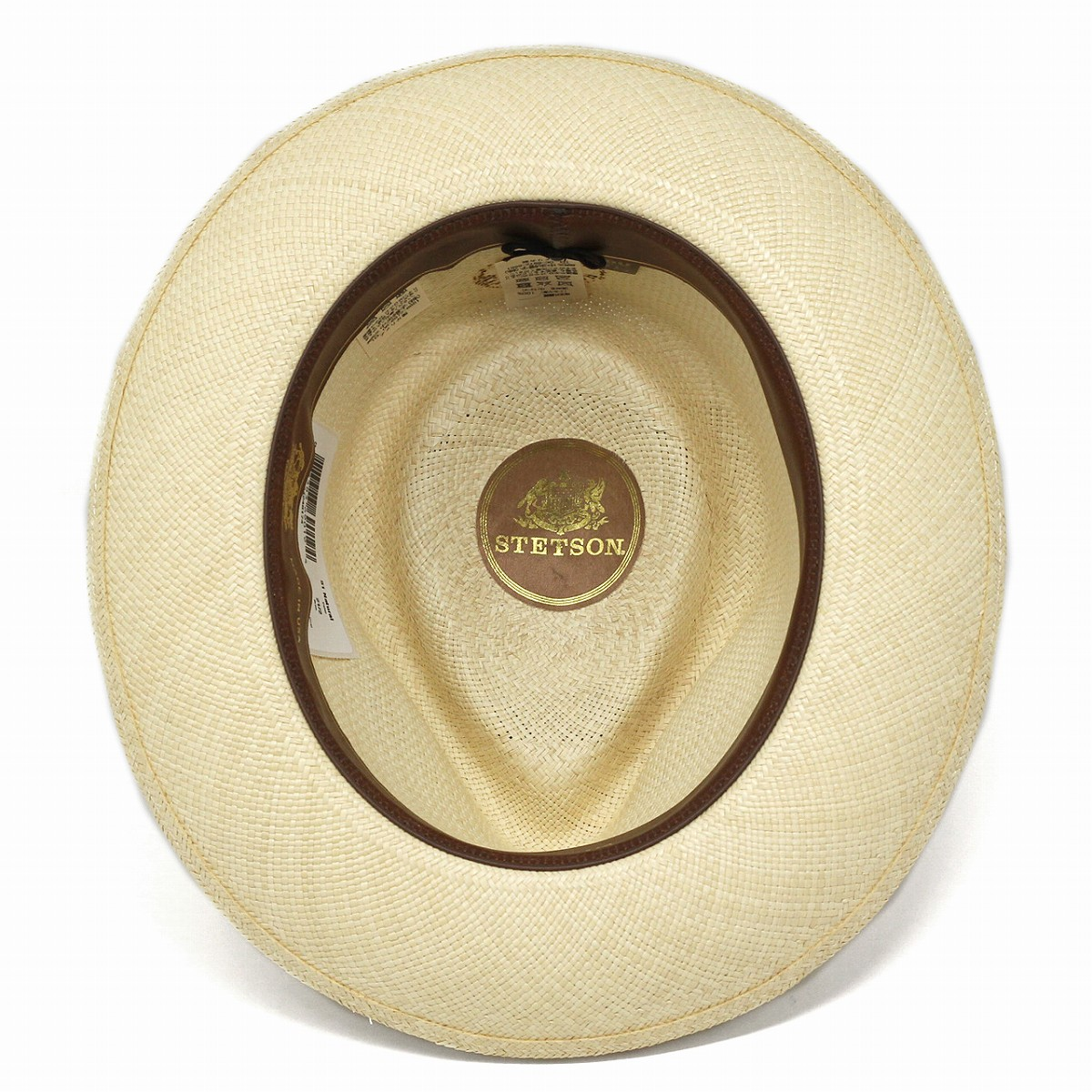 3a392d95c Panama hat STETSON rose embroidery ribbon overseas brand Stetson straw hat  men hat soft felt hat hat straw hat 58cm 60cm stetson hat / natural [panama  ...