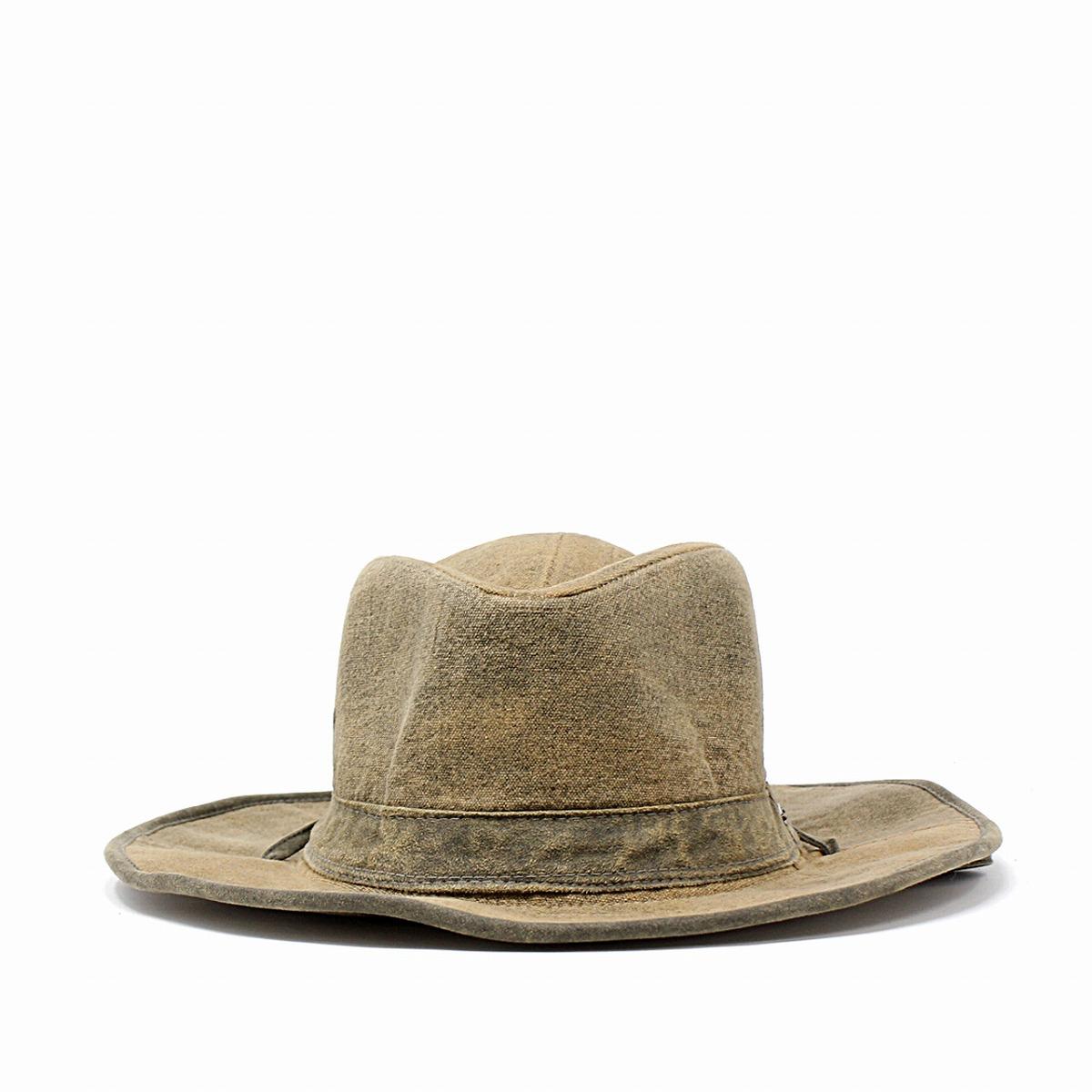 60b7db1a ... Season washing processing hat soft felt hat STETSON HAT western hat  gentleman tea brown [cowboy ...