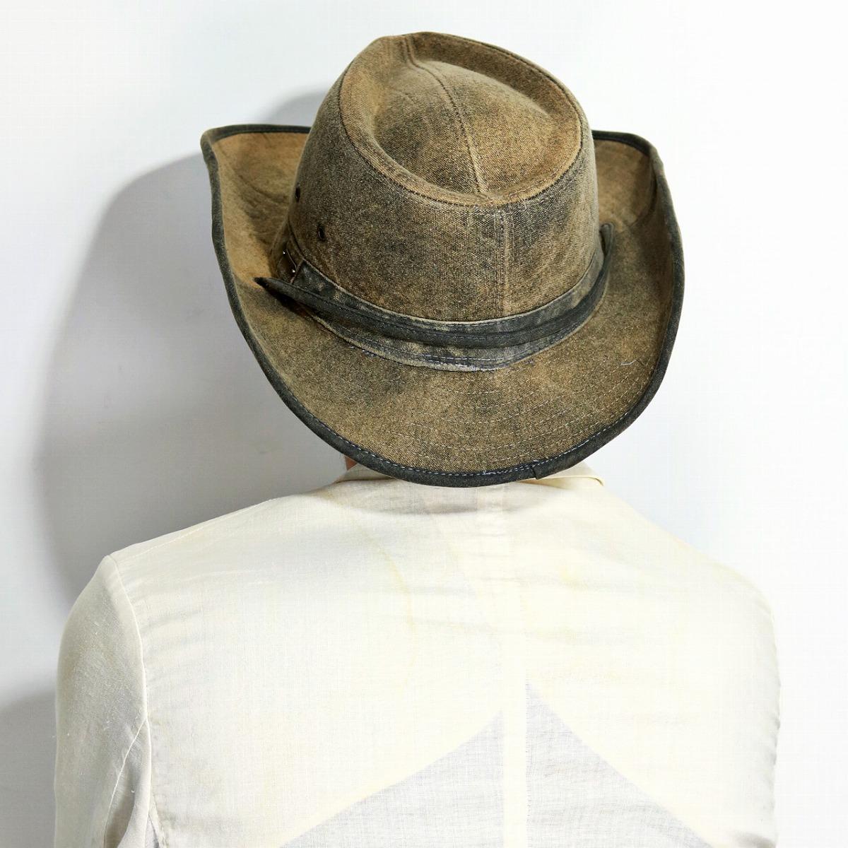 14e43def ... Season washing processing hat soft felt hat STETSON HAT western hat  gentleman tea brown [cowboy