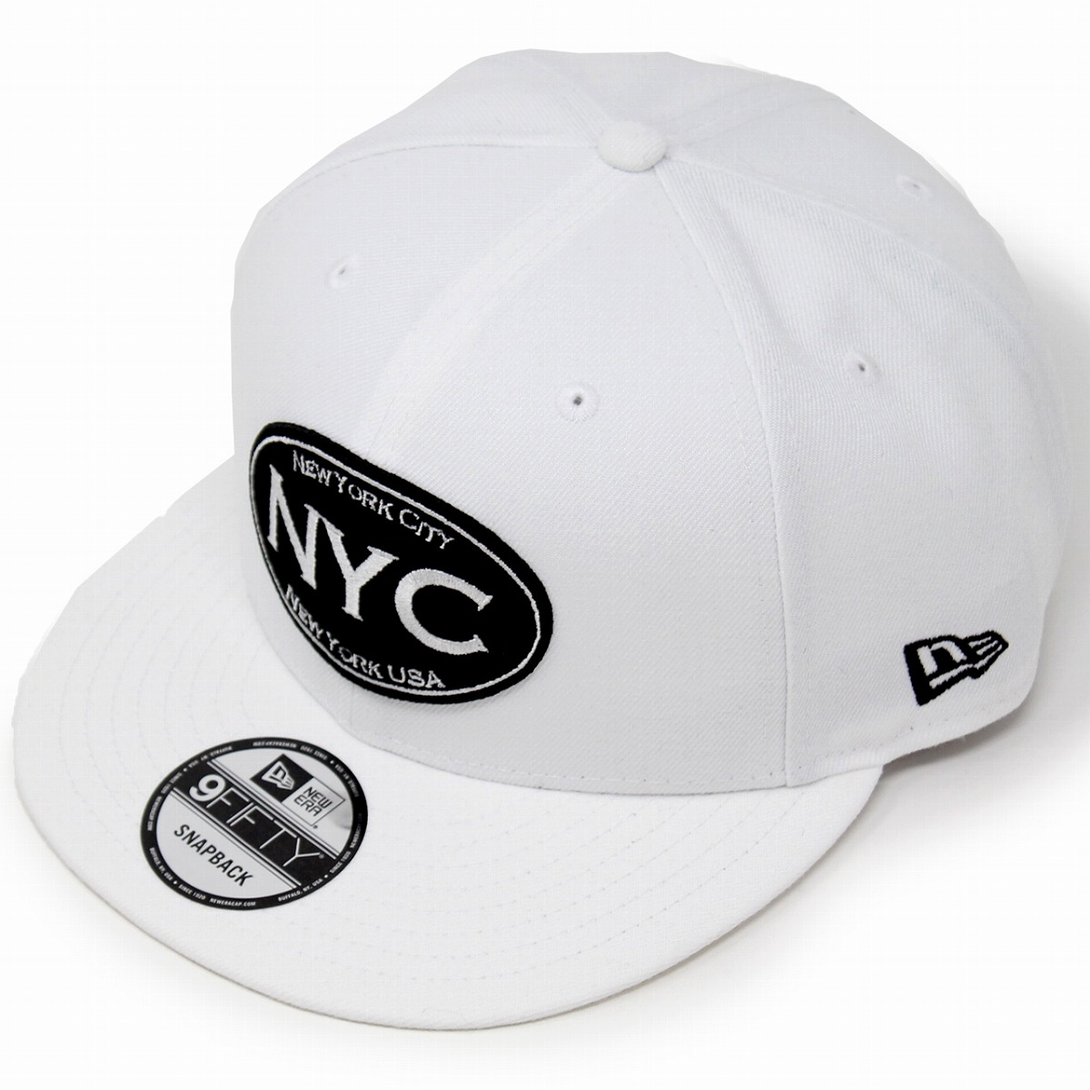 New gills cap white NEWERA NYC 9FIFTY men hat logo cap Lady s Oval logo cap  Basic ... 88fa65bffe