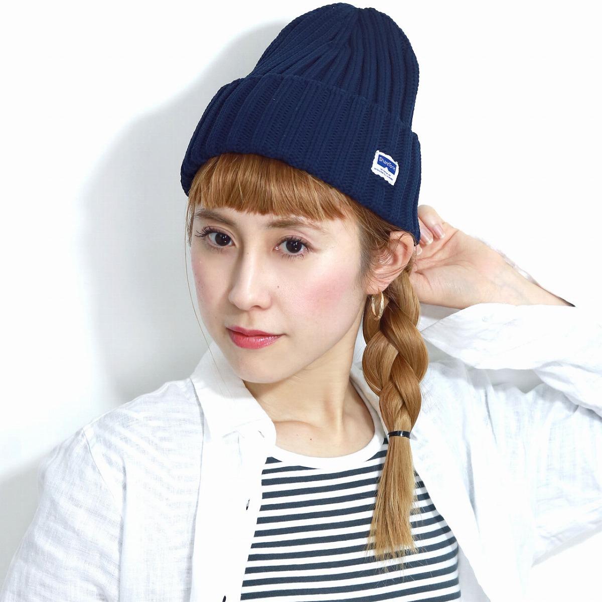 ELEHELM HAT STORE  ワッチ fast-dry light weight sports men outdoor share tone  beanie hat Lady s dark blue knit hat adjustable size unisex   navy  beanie  ... 064b0d88827