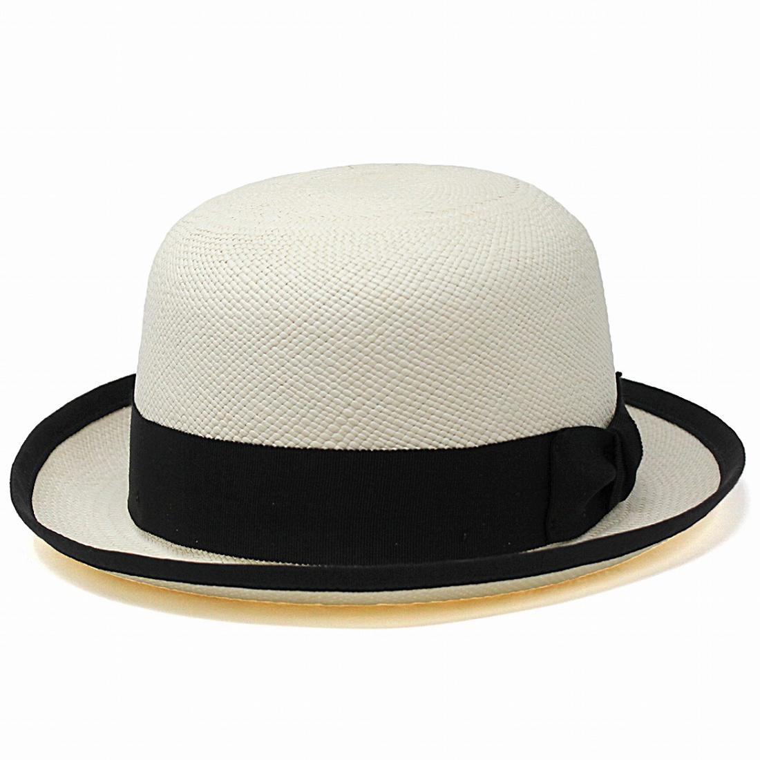 パナマ ボーラーハット メンズ 春 夏 帽子 ベイリー パナマハット モノトーン Bailey インポート 海外ブランド アメリカ製 パナマ帽 トキヤ草 高級 M L XL