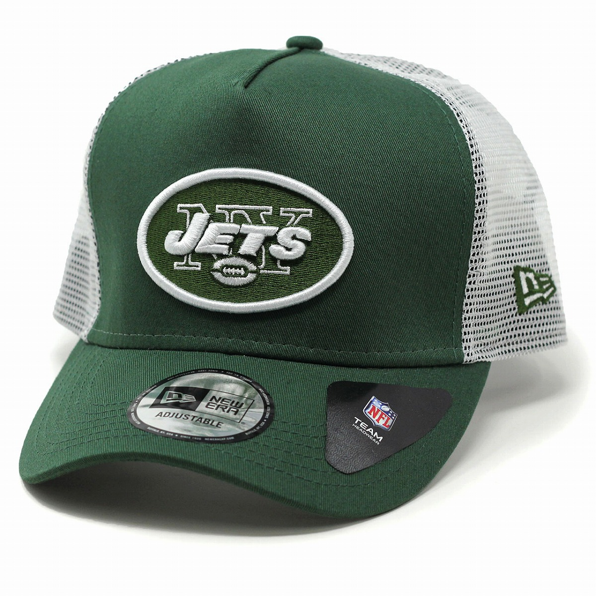 reputable site f6813 445d1 NEWERA NFL New York Jets new gills constant seller 9FORTY D-Frame Trucker  cap men mesh cap Lady's hat / green silane fatty tuna green team color ...