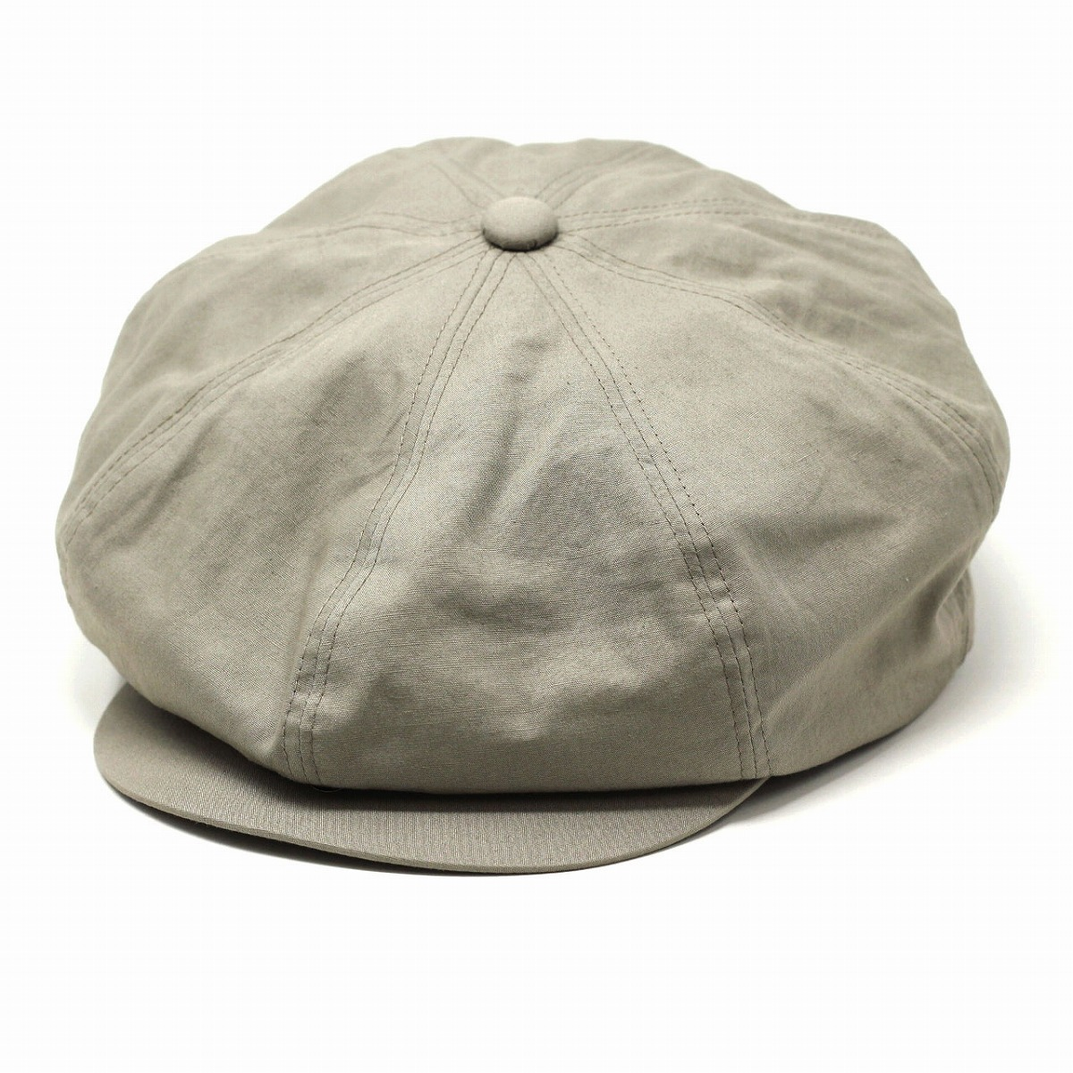 e6bf011b6 CAS Cass linen cotton hemp weather casual / medium size large size / gray  [newsboy cap] made in racal hat 8 panel casquette hat men lady's Japan  where ...