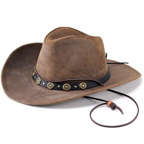 テンガロンハット カウボーイハット ヘンシェル Henschel レザー 本革 40代 ギフト ウエスタンハット 40代 50代 60代 ファッション カウボーイ テンガロン hat メンズ レディース 中折れ帽子 中折れハット アメリカ製(プレゼント)