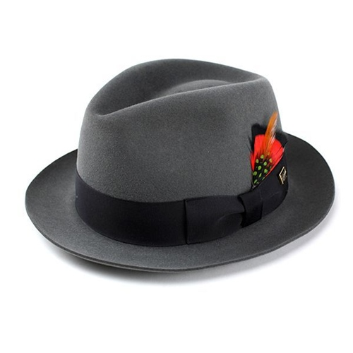 KNOX ノックスブランドラビットファーフェルト100%高級中折れHAT メンズ ハット 帽子 サイズ豊富 [fedora] 送料無料 高級 メンズ ハット 紳士 中折れ帽 日本製 帽子 プレゼント 男性 上品 帽子 ギフト ブランド ファッション 小物 フェルトハット フェルト ハット