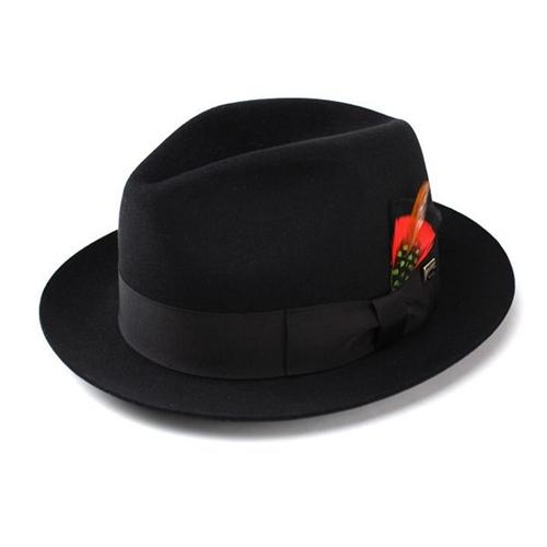 KNOX 帽子 ハット メンズ ノックスブランドラビットファーフェルト100%高級中折れハット [fedora] 送料無料 (高級 メンズ ハット 紳士 中折れ帽 日本製 帽子 プレゼント 男性 上品 帽子 ギフト ブランド ファッション 小物) フェルトハット フェルト ハット