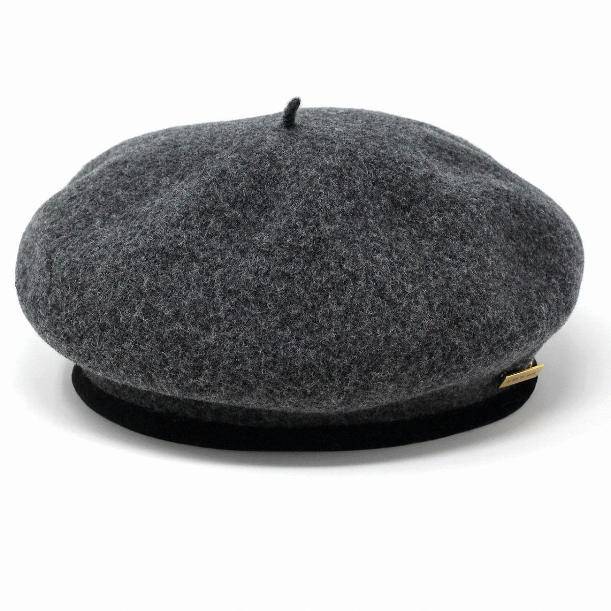 羊毛 ちょぼ付き ベレー レディース メゾン バース ベレー アーミーベレー maisonbirth 帽子 レディース ベレー帽 メンズ 日本製 フリーサイズ グレー [ beret ] プレゼント クリスマス ギフト 帽子 贈り物 ラッピング無料