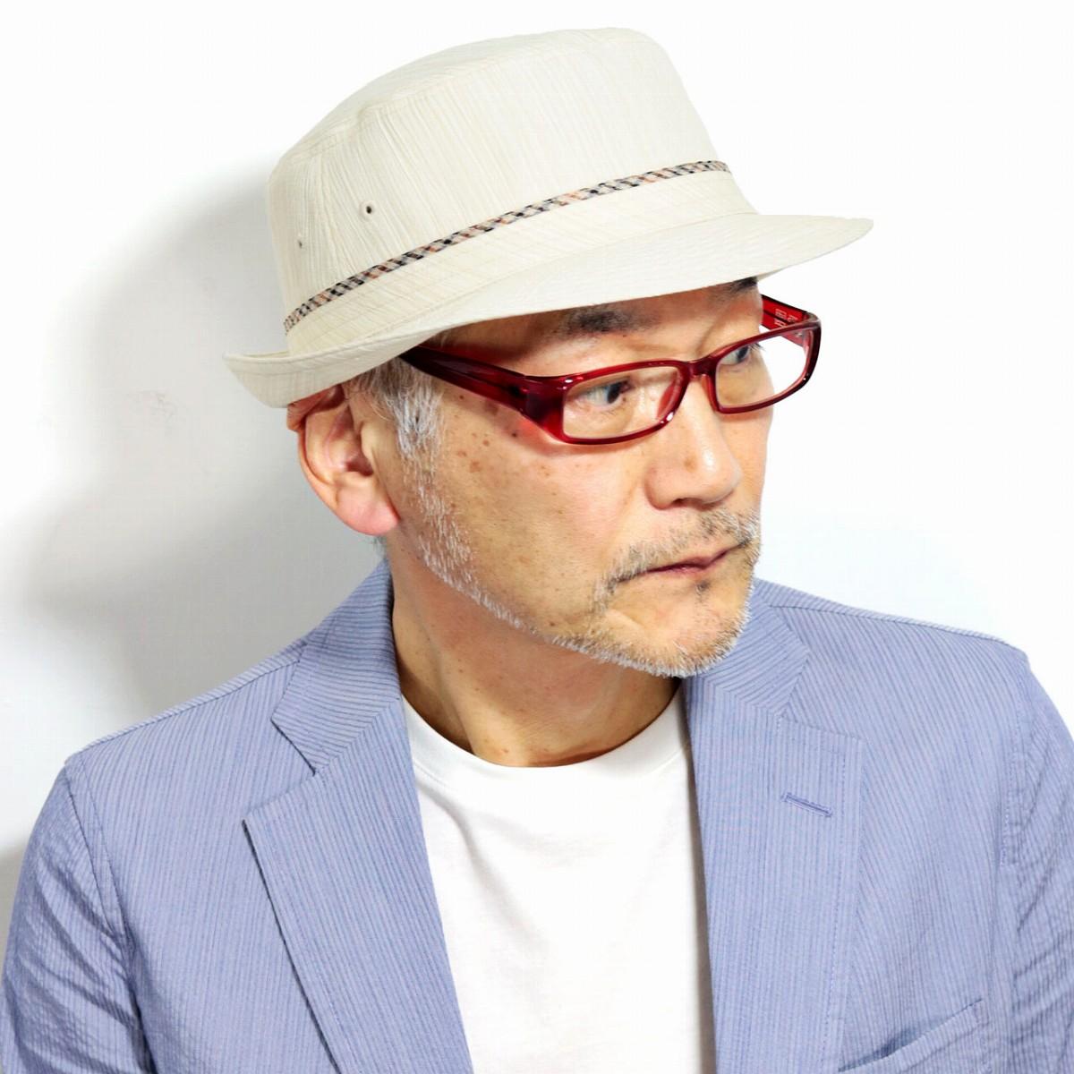 DAKS 春 夏 メンズ ハット メンズ アルペンハット 縮み織り 生地 ダックス ブランド 紳士 帽子 イギリス 日本製 アルペン帽 ベージュ [ alpine hat ] 送料無料 父の日 ギフト 誕生日 プレゼント