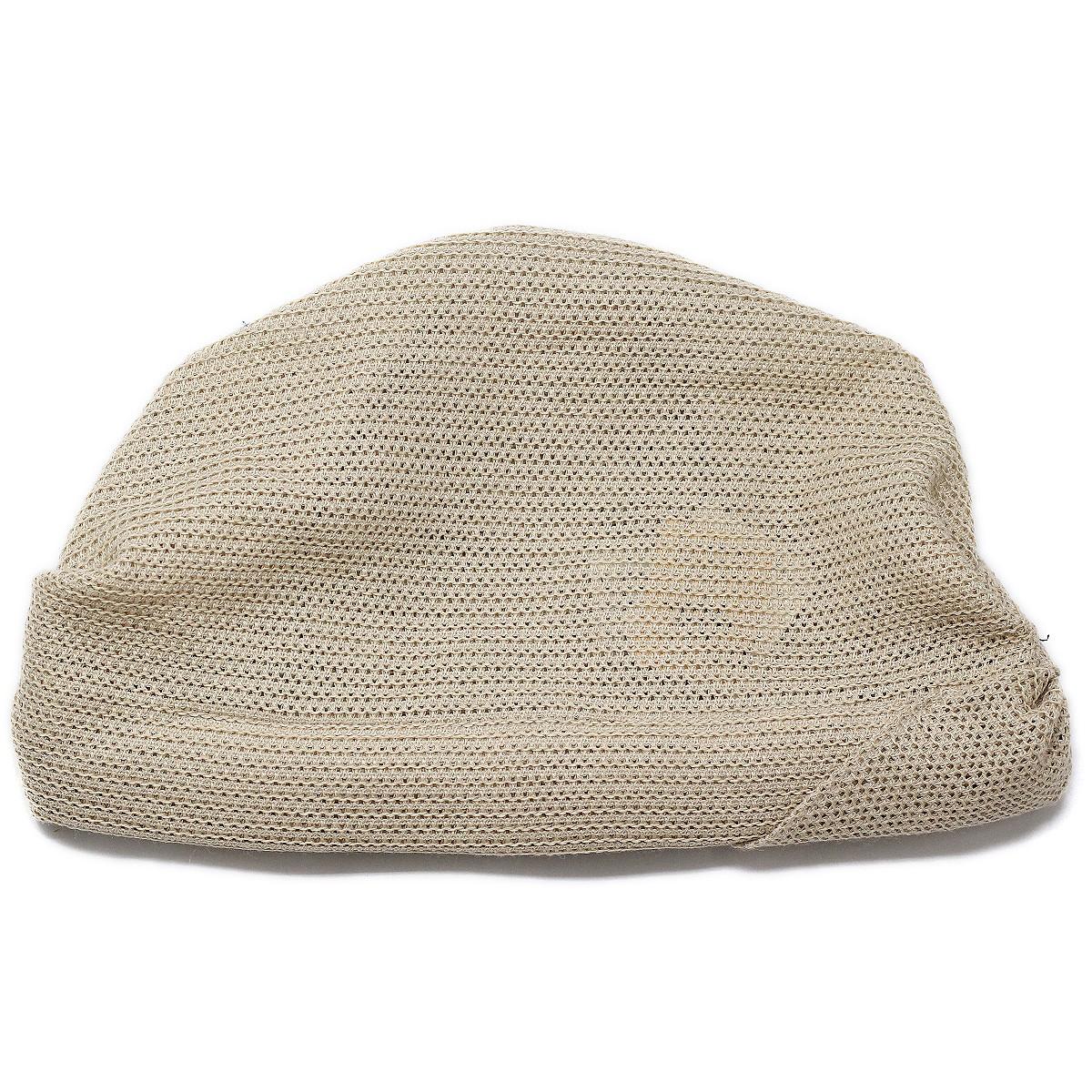 レディース ターバン 帽子 春夏 麻100ニット 春用 夏用 吸湿性の高い生地 ベージュ 婦人帽子 ミセスハット ニット帽 フリーサイズ 40代 50代 60代 70代 ファッション ベージュbeanie capturbanlZuOXTwiPk