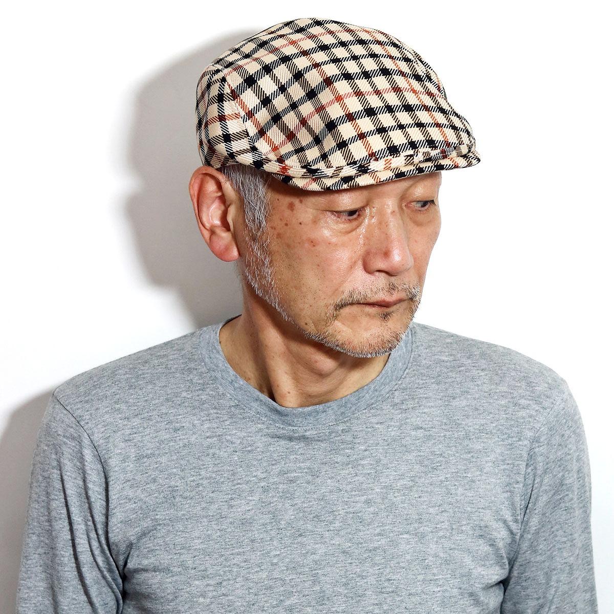 送料無料 ダックス ハンチング 大きいサイズ M L LL daks 直営ストア ブランド 帽子 チェック柄 人気急上昇 ハンチング帽 40代 50代 60代 70代 男性 日本製 XL 10%OFFクーポン プレゼント ギフト コットンドビーハウスチェック 紳士 ファッション 期間限定 ベージュ 誕生日 DAKS おしゃれ ハウスチェック お父さん