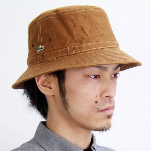 a25fec6cbfeaa Hats mens Lacoste outdoor cotton tough taste LACOSTE hats bucket Hat TCM    camel (10P07Nov15)