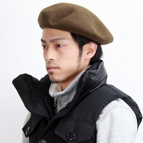 Elehelm Hat Store Army Beret Hat Wool Basque Beret Hat