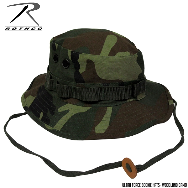ROTHCO Boonie Hat - Woodland Camo ☆ large size big Safari Hat adventure Hat  jungle Hat Hat Hat men s women s mountaineering climbing outdoor camping 026424a939c5