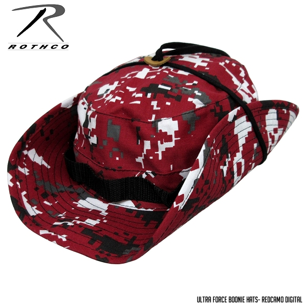 ... ROTHCO Boonie Hat - TW red Camo digital ☆ large size big Safari ... 52edc1fc15c4