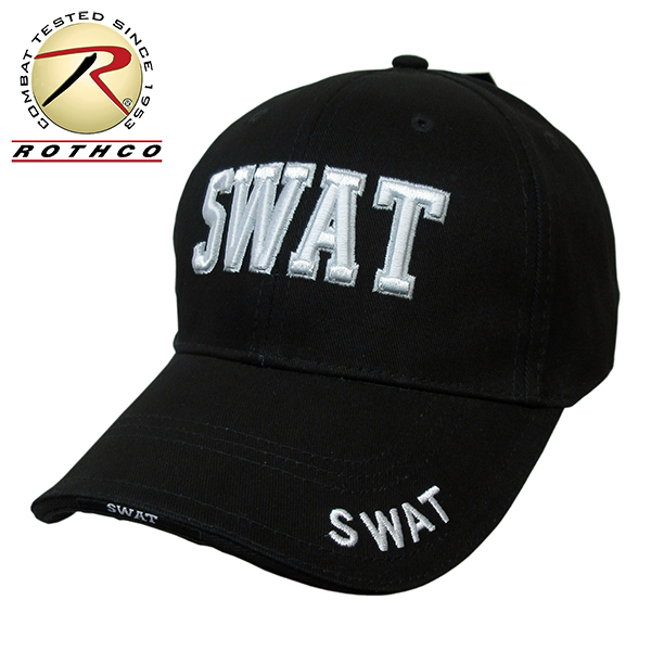 fd2ba2143b6 auc-elephantwalk  ROTHCO  Roscoe  SWAT baseball cap DELUXE SWAT LOW PROFILE  CAP ☆ men gap Dis hat baseball outdoor golf watt
