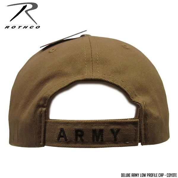 ROTHCO  Roscoe  ARMY baseball cap DELUXE LOW PROFILE CAP ARMY - prairie  wolf ☆ men gap Dis hat baseball outdoor golf CAP 89683460211c