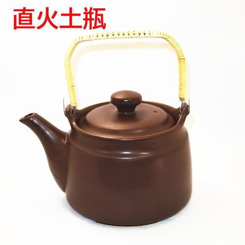 薬草煎・麦茶・ウーロン茶に!安全検査合格品  耐熱薬土瓶『直火用』2.2リットル用日本製常滑焼