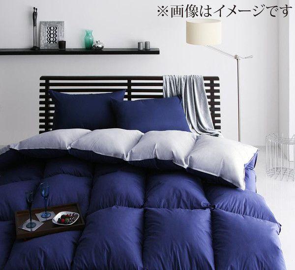 【送料無料】 布団セット クイーン 10点セット ベッド用 羽根布団 布団