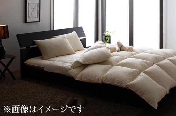 【送料無料】 敷き布団 入り 布団セット セミダブル 羽根 羊毛混 8点セット 床畳用 布団