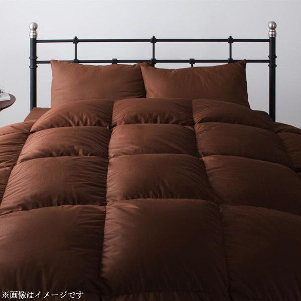 羽毛 掛け布団 ダブル 羽毛布団 日本製 プレミアムゴールドラベル マザーグースダウン 93%