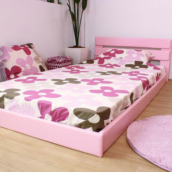 【ダブルサイズ レギュラーマットレス】 オールレザーデザインパネルフロアベッド (264) 部屋を広く見せるフロアタイプ 信頼性のある国産フレーム パネルもすべてレザー張り新感覚ベッド